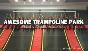 Awsome trampoline park