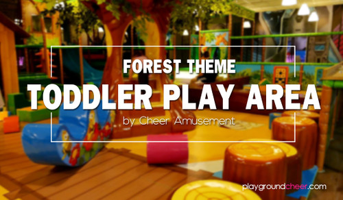 Forest Theme Toddler Play Area by Cheer Amusement