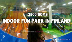 2500 SQMS Indoor Fun Park in Finland
