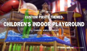 Custom Pirate Themed Children's Indoor Playground
