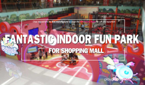 Fantastic Indoor Fun Park for Shopping Mall