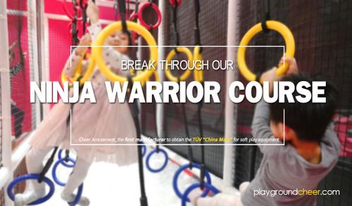 Break Through Our Ninja Warrior Course