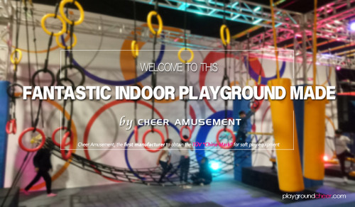 Introducing this fantastic indoor playground made by Cheer Amusement!
