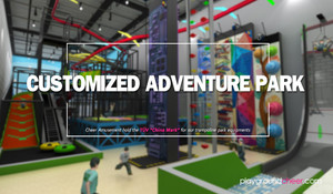 Customized adventure park by Cheer Amusement