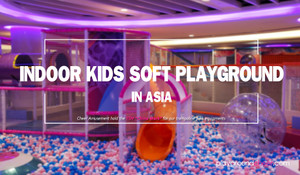 Indoor Kids Soft Playground in Asia