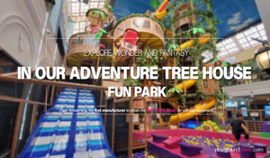 Explore wonder and fantasy in our Adventure Tree House Fun Park!