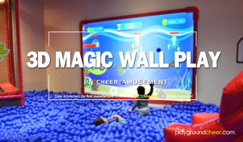 3D Magic Wall Play by Cheer Amusement