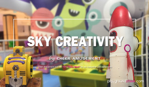 Lovely Outer Space Themed Kids Play Park by Cheer Amusement