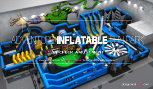 Adventure Inflatable Fun Park by Cheer Amusement