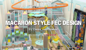 Macaron Style FEC Design by Cheer Amusement