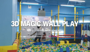 3D Dynamic Magic Wall by Cheer Amusement