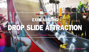 Exhilarating Drop Slide Attraction