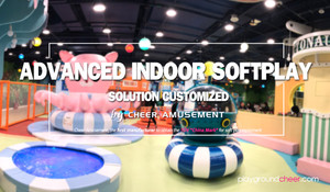 Indoor Softplay Solution Customized by Cheer Amusement