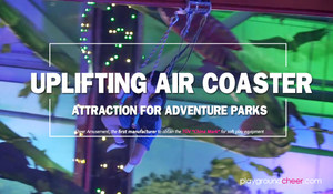 Uplifting Air Coaster Attraction for Adventure Parks