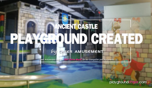 Ancient Castle Playground Created by Cheer Amusement