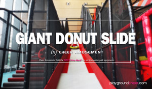 Giant Donut Slide by Cheer Amusement