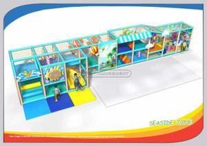Seaside Zone Children Toddler Soft Playground Equipment