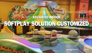 Advanced Indoor Softplay Solution Customized by Cheer Amusement