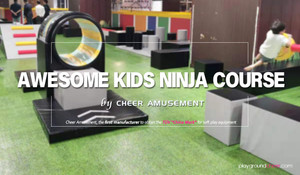 Awesome Kids Ninja Course by Cheer Amusement