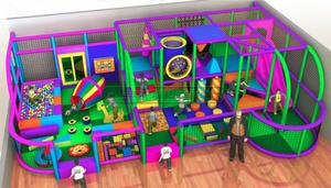 Toddler Play Indoor Playground Equipment Soft Play