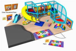 Kids Play Zone Toddler Playground