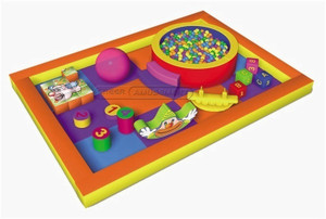 Happy Candy Themed Toddler Playground Equipment
