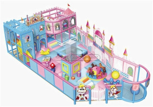 Princess Castle Themed Toddler Playground Equipment