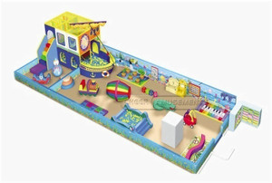 Underwater And Pirate Themed Toddler Playground Equipment