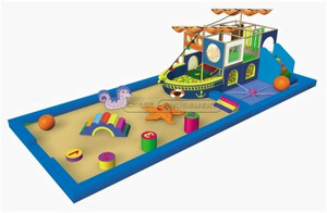 Ocean Themed Toddler Playground Equipment
