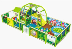 Insect Village Themed Toddler Playground Equipment