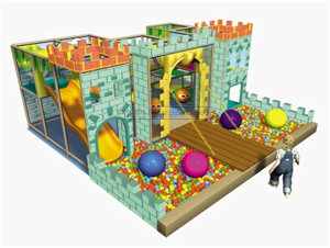 Castle Themed Toddler Playground Equipment