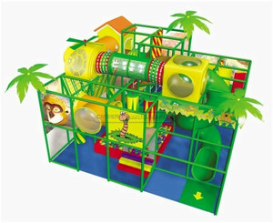 Jungle Themed Toddler Playground Equipment