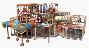 Pirate Themed Toddler Playground Equipment