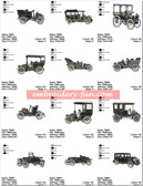 ANTIQUE CARS EMBROIDERY DESIGNS