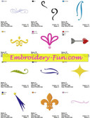 BLOUSE COLLECTION EMBROIDERY MACHINE DESIGNS
