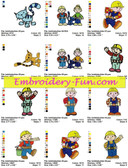 BOB THE BUILDER EMBROIDERY DESIGNS