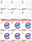 CHICAGO CUBS BEAR MLB LOGO EMBROIDERY MACHINE DESIGNS