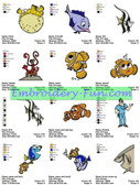 FINDING NEMO MACHINE EMBROIDERY DESIGNS