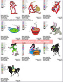MULAN DISNEY Machine Embroidery Designs