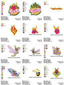Spyro Cartoon Embroidery Designs
