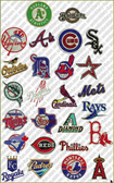 HUGE  COLLECTION MAJOR LEAGUE BASEBALL (MLB) SPORTS LOGO MACHINE EMBROIDERY DESIGNS