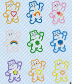 BIG SET OF 27 CAREBEARS APPLIQUE CARTOON MACHINE EMBROIDERY DESIGNS