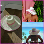 Hot Pink Summer Breeze Hat