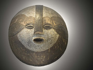 Ceremonial Mask, Luba Peoples,Democratic Republic of the Congo