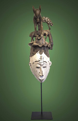 Royal Ceremonial Mask - Igbo Peoples, Nigeria