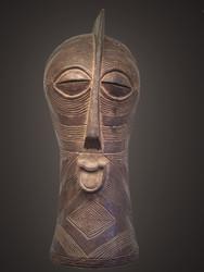 Kifwebe Royal Mask, Songye Peoples, D. R. Congo