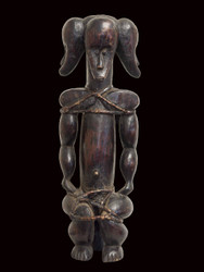 Superb Reliquary Figure, Fang Peoples, Gabon