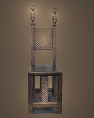 A Rare and Important King's Chair, Toma Peoples, Guinea