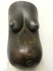 Female Body Mask, Makonde Peoples, Southeastern Tanzania
