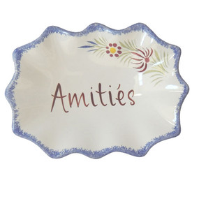 Decorative Dish - Amities